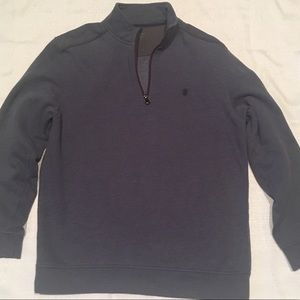 Izod Men's Saltwater Fleece 1/4 Zip Pullover